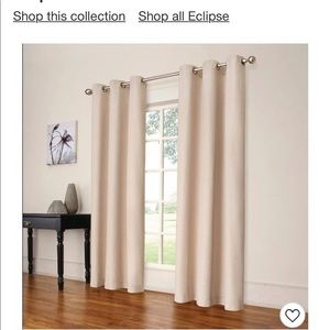 Eclipse 99.9 room darkening curtain panels